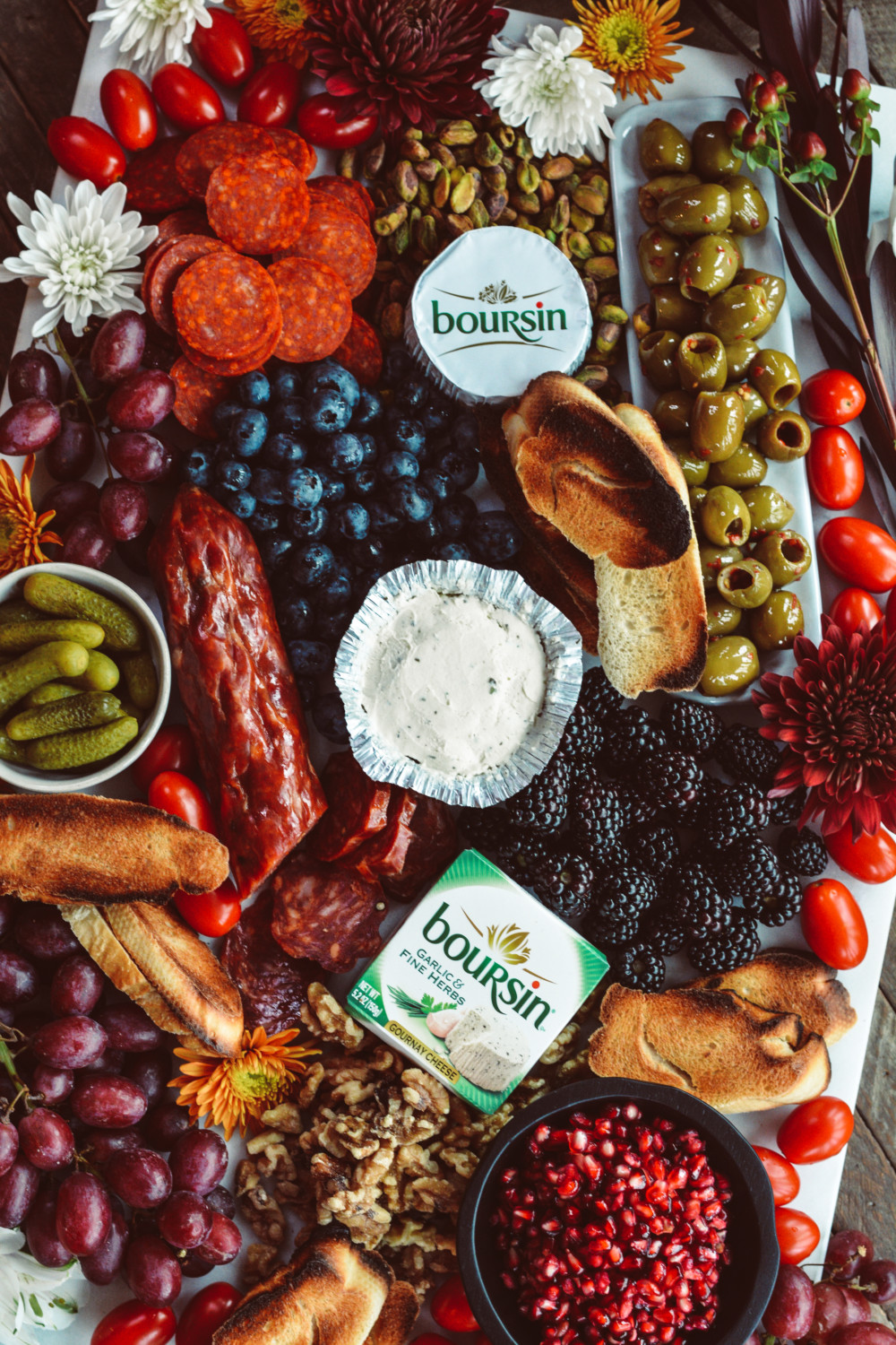 Boursin® Holiday Cheese Platter - Ciao
